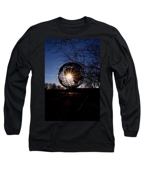 Sunset Through The Unisphere Long Sleeve T-Shirt