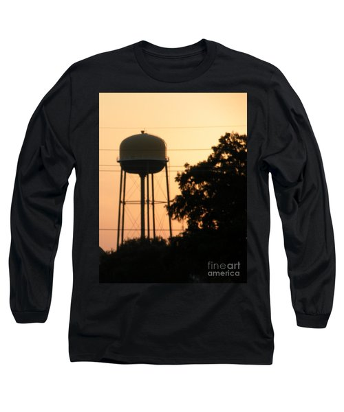 Sunset Water Tower Long Sleeve T-Shirt