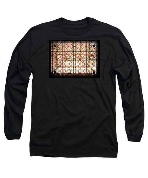 Long Sleeve T-Shirt featuring the photograph Sunset Window by Paula Ayers