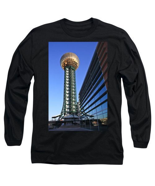 Sunsphere And Conference Center Long Sleeve T-Shirt by Melinda Fawver