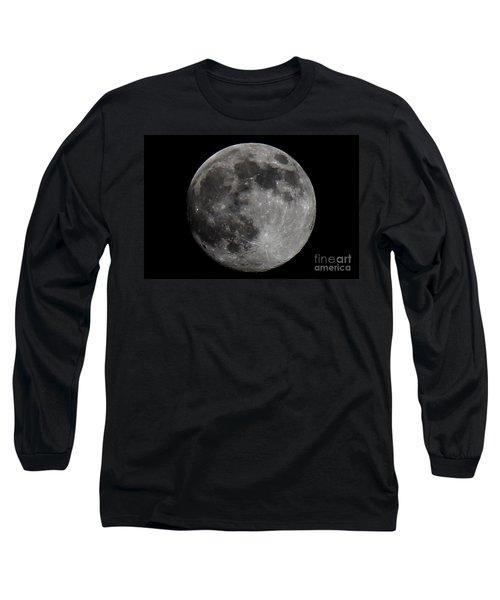 Super Moon 2014 Long Sleeve T-Shirt