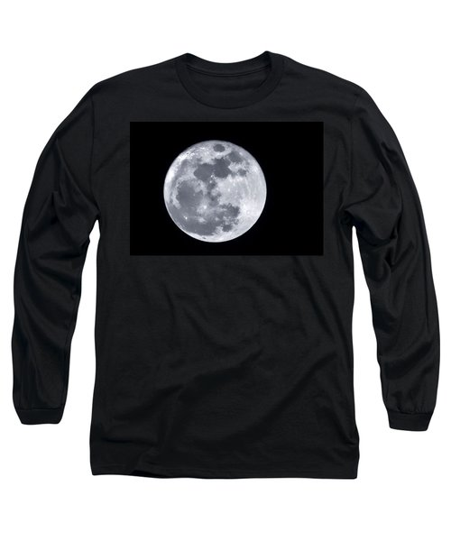 Super Moon Over Arizona  Long Sleeve T-Shirt