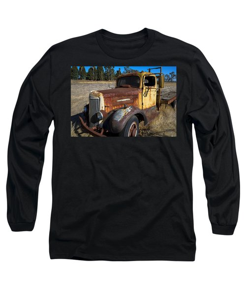 Super White Truck Long Sleeve T-Shirt