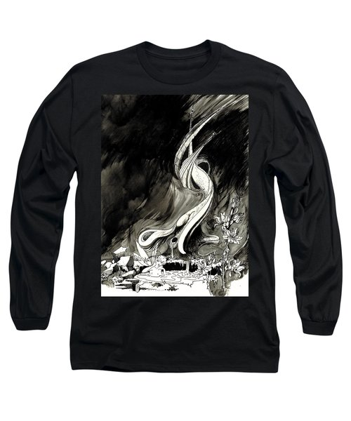 Surprise Long Sleeve T-Shirt by Julio Lopez