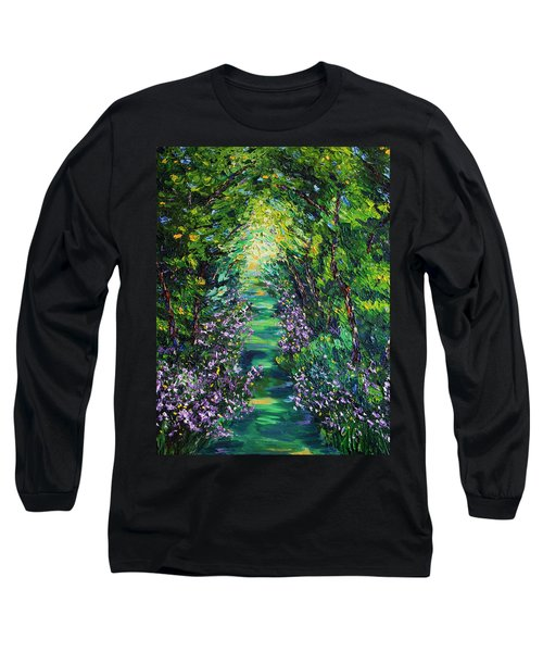 Long Sleeve T-Shirt featuring the painting Surrender by Meaghan Troup
