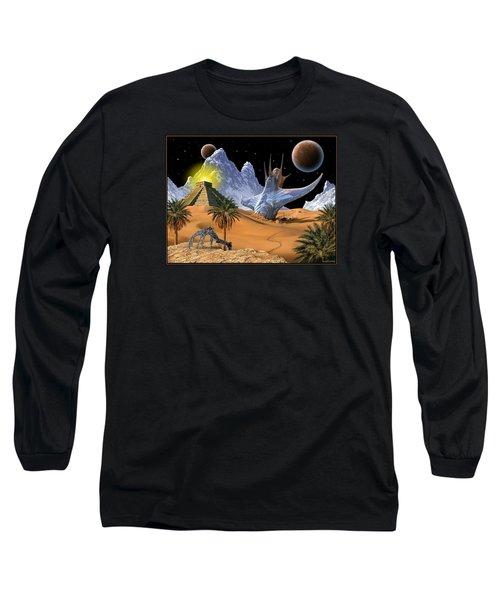 Survivor Long Sleeve T-Shirt by Scott Ross