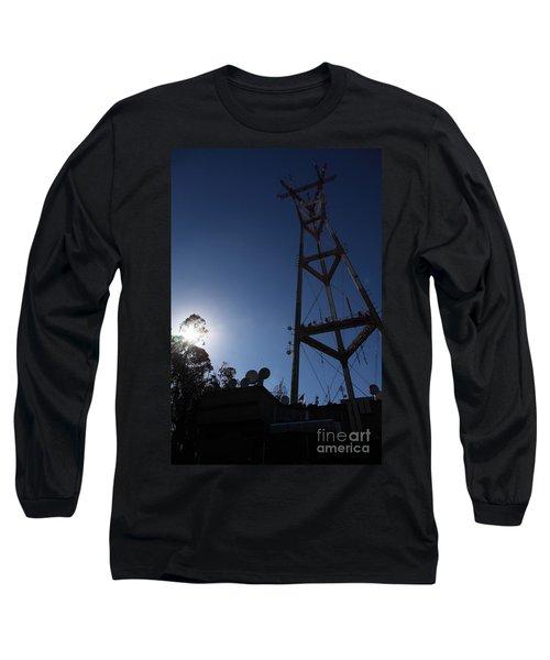 Sutro Tower San Francisco California 5d28082 Long Sleeve T-Shirt