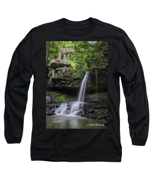 Suttons Gulch Waterfall Long Sleeve T-Shirt