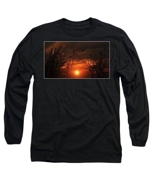 Swamp Sunset  Long Sleeve T-Shirt