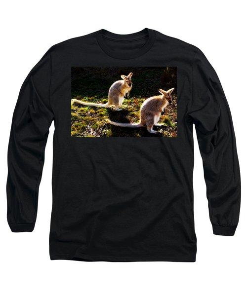 Swamp Wallabies Long Sleeve T-Shirt