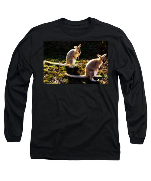 Red-necked Wallabies Long Sleeve T-Shirt