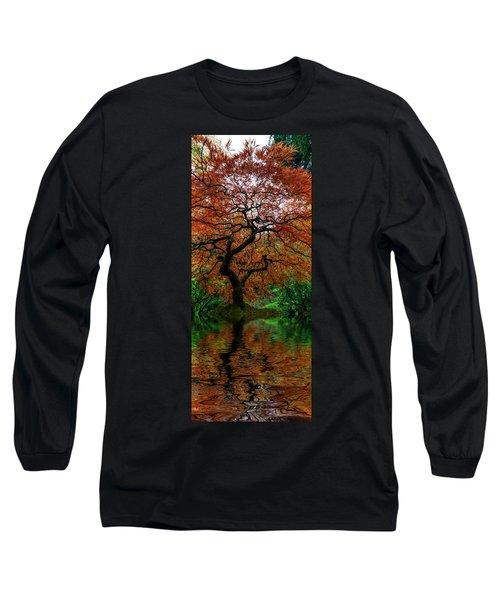 Swamped Japanese Long Sleeve T-Shirt