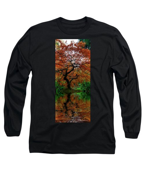 Swamped Japanese Long Sleeve T-Shirt