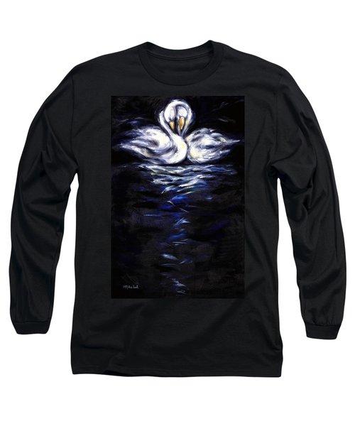 Swan Long Sleeve T-Shirt by Hiroko Sakai