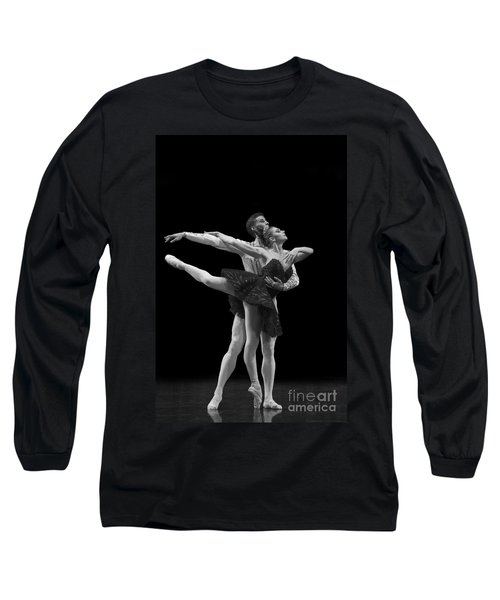 Swan Lake  Black Adagio  Russia  Long Sleeve T-Shirt