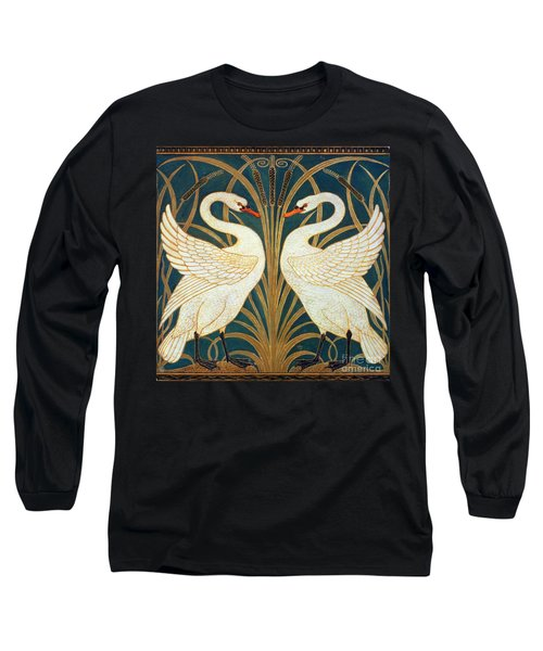 Swan Rush And Iris Long Sleeve T-Shirt