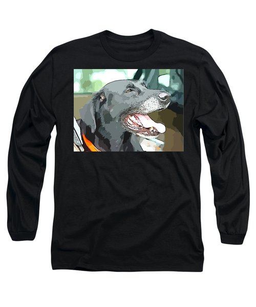 Sweet Amos Long Sleeve T-Shirt by Alice Gipson