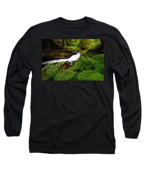 Sweet Creek Ferns Long Sleeve T-Shirt