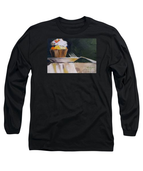 Sweet Cupcake Long Sleeve T-Shirt by Mary Hubley