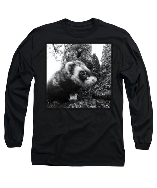 Sweet Little Nicky Chillin In A Tree Long Sleeve T-Shirt