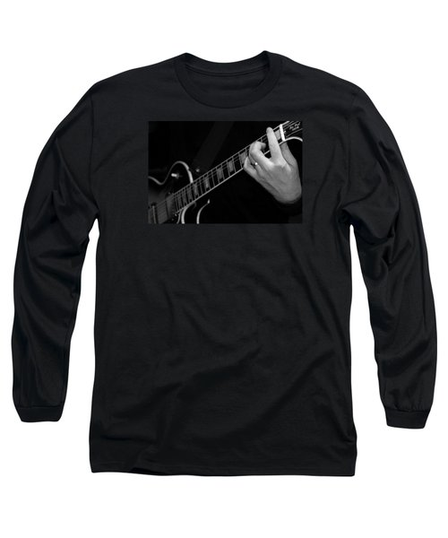 Sweet Sounds In Black And White Long Sleeve T-Shirt by John Stuart Webbstock