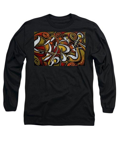 Sweet Sounds Of Jazz Long Sleeve T-Shirt