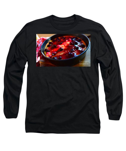 Long Sleeve T-Shirt featuring the photograph Sweetest Cheese Pie by Ramona Matei