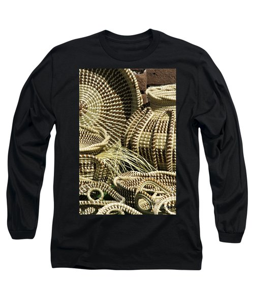 Sweetgrass Baskets - D002362 Long Sleeve T-Shirt