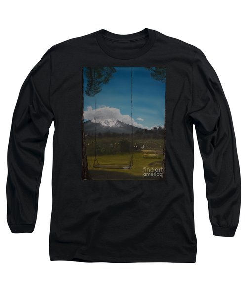 Swing On Mt Hoods Fruit Loop Long Sleeve T-Shirt
