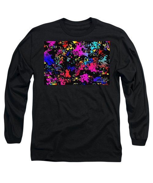 Swirl Long Sleeve T-Shirt by Mark Blauhoefer