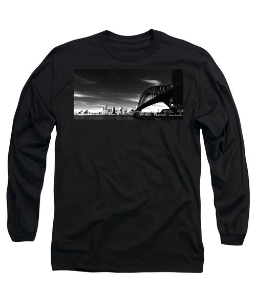 Long Sleeve T-Shirt featuring the photograph Sydney by Chris Cousins