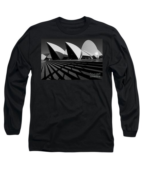 Long Sleeve T-Shirt featuring the photograph Sydney Opera House 02 by Yew Kwang
