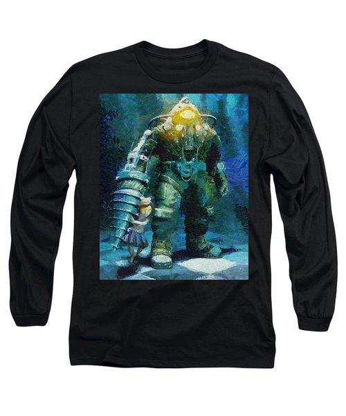 Symbiosis Long Sleeve T-Shirt by Joe Misrasi