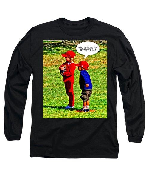 T Ball Fielders Long Sleeve T-Shirt