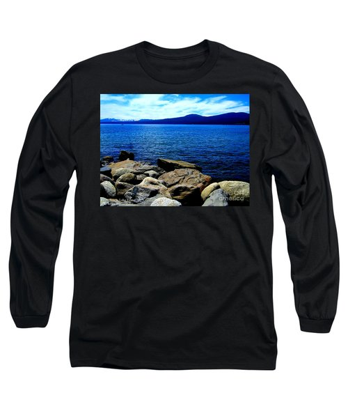 Long Sleeve T-Shirt featuring the photograph Tahoe Magic by Bobbee Rickard
