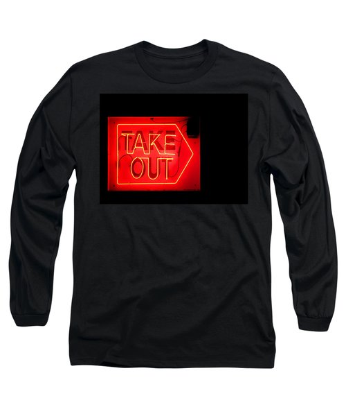 Long Sleeve T-Shirt featuring the photograph Take Out by Greg Simmons