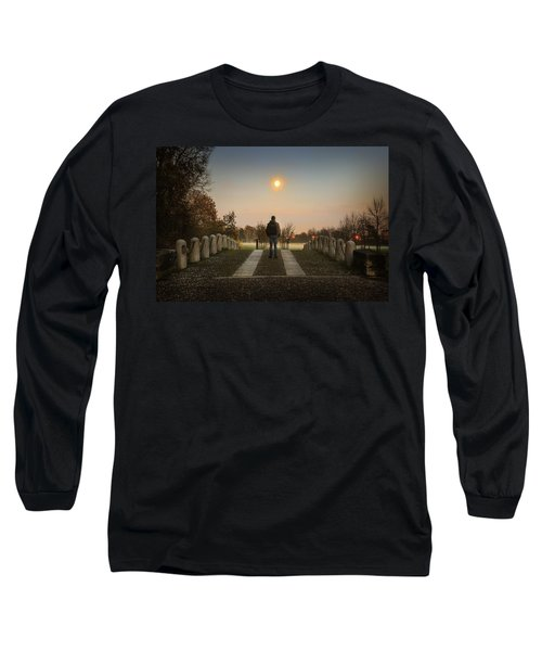 Talking To The Moon Long Sleeve T-Shirt