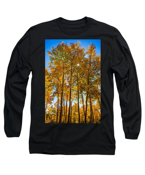 Tall Aspen With Sunstar Long Sleeve T-Shirt