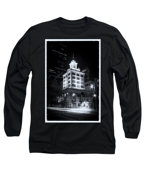 Tampa's Old City Hall Long Sleeve T-Shirt by Marvin Spates