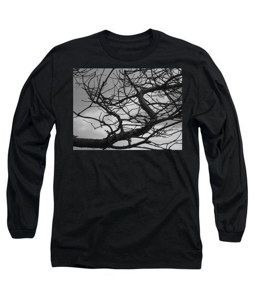 Tangled By The Wind Long Sleeve T-Shirt