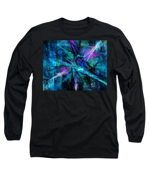 Tangled Web Long Sleeve T-Shirt by Sylvia Thornton