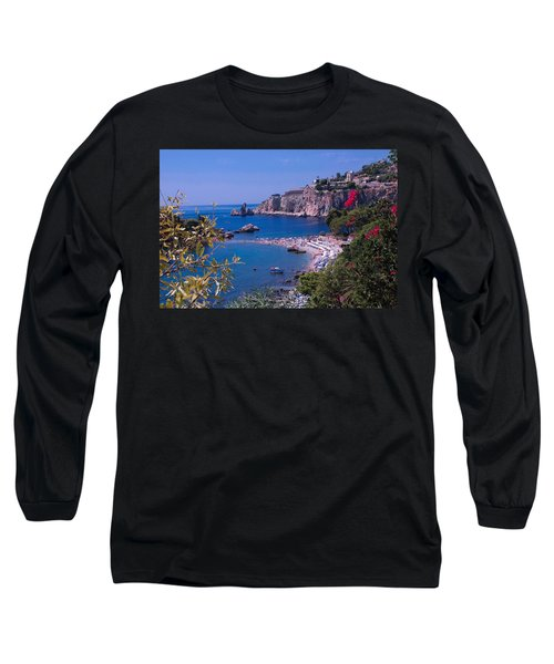 Taormina Beach Long Sleeve T-Shirt