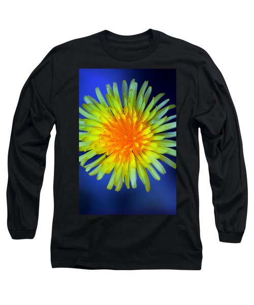 Blue Long Sleeve T-Shirt featuring the photograph Taraxacum by Aaron Berg