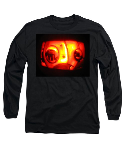 Tarboy Pumpkin Long Sleeve T-Shirt by Shawn Dall