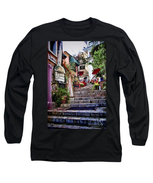 Taormina Steps Sicily Long Sleeve T-Shirt