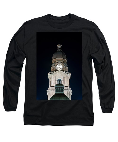 Tarrant County Courthouse V2 020815 Long Sleeve T-Shirt