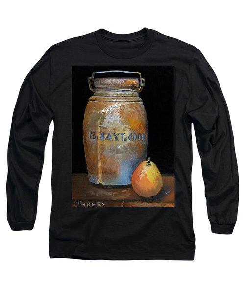 Taylor Jug With Pear Long Sleeve T-Shirt