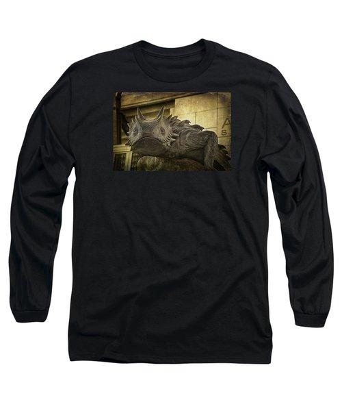 Tcu Horned Frog Long Sleeve T-Shirt by Joan Carroll