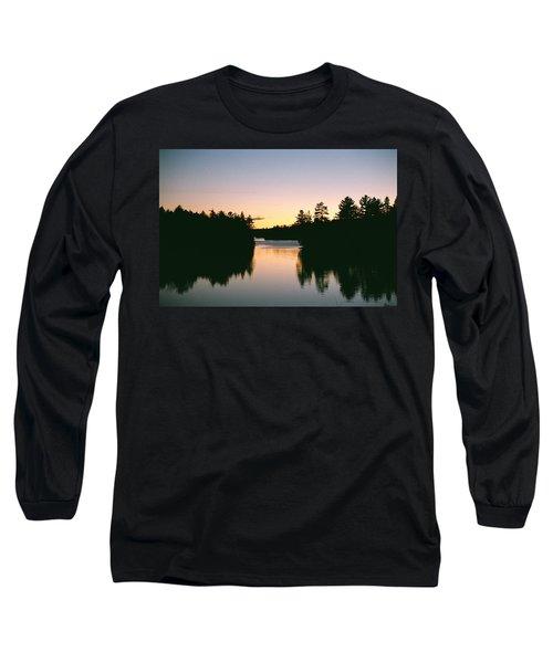 Tea Lake Sunset Long Sleeve T-Shirt