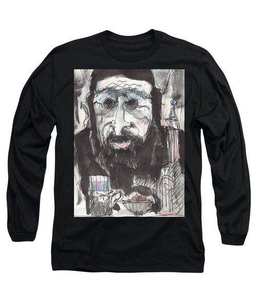 Tea Time 5 Long Sleeve T-Shirt by Maxim Komissarchik